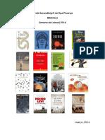 Coletânea de textos- semana da leitura 2016