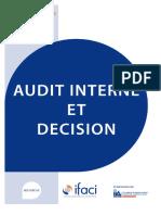 Audit Interne Et Decision