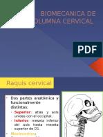 Biomecanica de Columna Cervical Eb