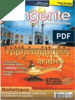 Article sur l'histoire des mathématiques arabes tangente