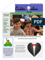 January February March 2016 Edition of the Caddie Online