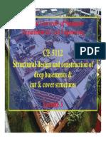 Deep basements & cut & cover - 3