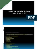 i Disturbi Di Personalita DSM IV