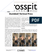 The Dumbbell Vertical Press