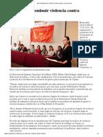 15/02/16 Busca Instituto Sonorense de la Mujer disminuir violencia contra mujeres - Canal Sonora
