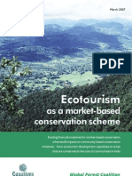 Ecotourism as a Market-Based Conservation Scheme