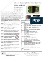 Advanced Control Systems - MCB-4B 4-Motor Driver