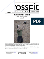 Kettlebell Skills - H2H Tapping Drills