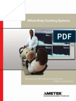 Whole Body Counting Systems