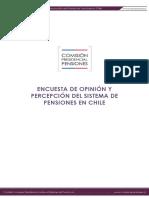Cuestionario Encuesta de Opinión Sistema de Pensiones en Chile