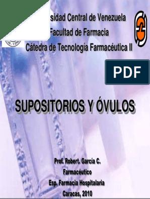 supositorios superiores uretritis