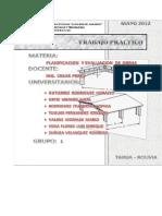 Ejercicios de CPM planificacion de obras