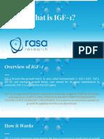 IGF-1 | What is it?