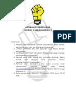 Form Aplikasi Patriot Energi Angkatan 2