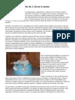 desarrollo de un bebe de 2 años 6 meses