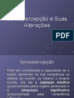 Sensopercep+º+úo e Suas Altera+º+Áes