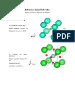 Estructura Del Diamante Cloruro de Cesio