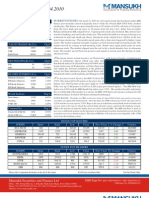 A study on Trading Pattern in Stock Market by Mansukh Investment and Trading Solutions 22/4/2010