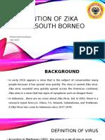 Prevention of Zika Virus in South Borneo