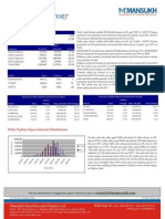 A report on Derivative Trading Pattern by Mansukh Investment and Trading Solutions 22/4/2010