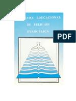 Programa Religion de Las Iglesias y Corporaciones Evangelicas de Chile