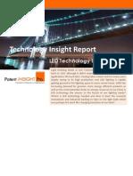 Gridlogics Technology Insight Report- LEDs in Lighting