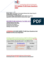 [2016 Mar. NEW]Braindump2go 70-484 Study Guide 111-120