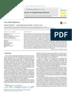 Artigo Elsevier 2014 Gray Wolf Optimizer