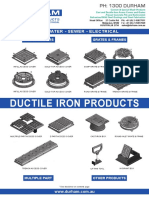 DURHAM - Cast Iron Products