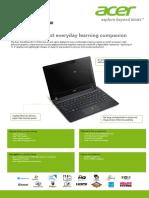 Acer Travelmate b113 e Brochure