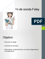 Colocación de Sonda Foley