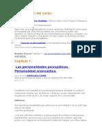 Auto Psicopatologia Curso de Internet Psicologia
