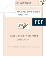 Daily Equity Report By Money Maker Research