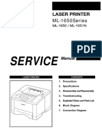 Samsung Ml-1650 Service Manual