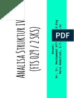 matriks analisa struktur