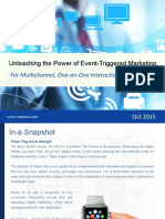 Unleashing the Power of Event-Triggered Marketing