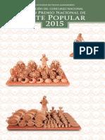 Catálogo Gran Premio 2015 Arte Popular