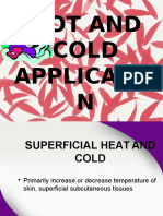Hot Cold Application