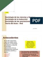 La sociología de las ciencias y las técnicas