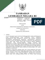 PP Nomor 66 Tahun 2014 (Pp66-2014pjl) Ttg KESLING
