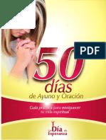 50 Días de Ayuno y Oración