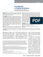 Mode of Delivery and Postpartum Depression, role of choice
