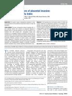 Placenta Accreta Index