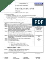 Drill report