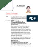 Anindita Bhowmick Profile