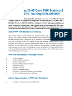 PHP with Wordpress Training Institute in Lucknow|PHP with Wordpress course Company for b.tech,MCA in lucknow ads