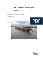 Refit of IWW Container Vessel EIGER