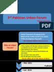 3rd Pakistan Urban Forum Declaration