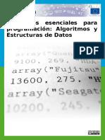 Elementos Esenciales Para Programación
