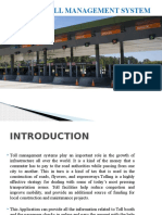 Toll Management System Design Presentation